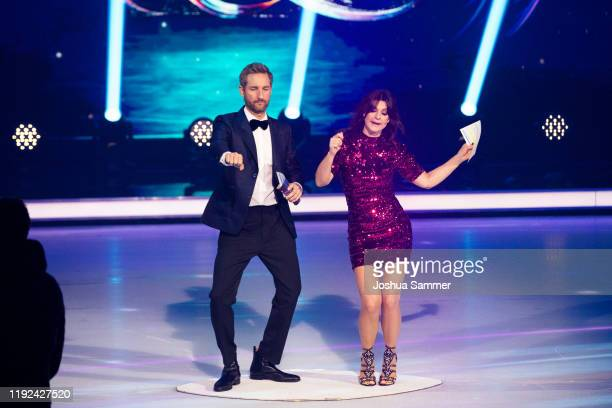 Daniel Boschmann and Marlene Lufen during the 5th show of the TV series Dancing on Ice on December 06 2019 in Cologne Germany
