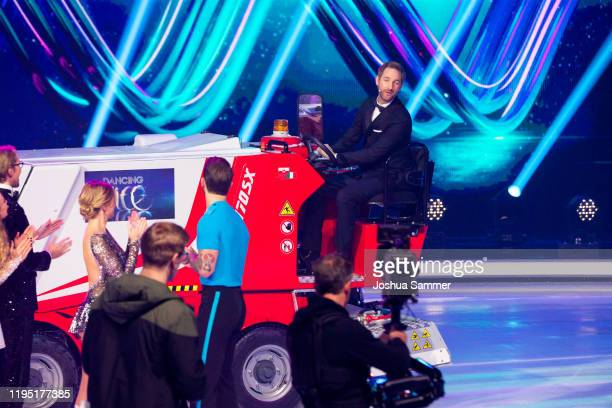 Daniel Boschmann during the finals of the television show Dancing On Ice on December 20 2019 in Cologne Germany