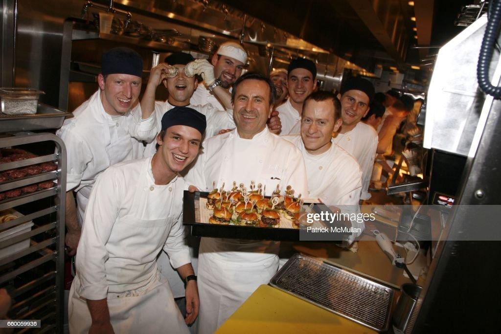 Daniel Boulud And Boulud Kitchen Staff Attend DANIEL BOULUD And SCOTT KASEN  Host A Sneak Peak