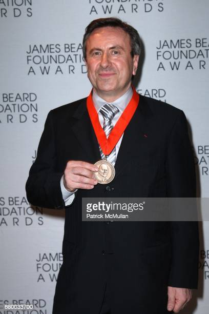 Daniel Boulud attends The 2009 JAMES BEARD FOUNDATION AWARDS at Avery Fisher Hall at Lincoln Center on May 4 2009 in New York City