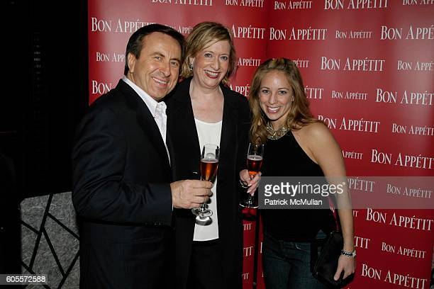 Daniel Boulud, Barabra Fairchild and Lauren Glassberg attend Bon Appetit Editor in Chief Barbara Fairchild and the James Beard Foundation invite you...