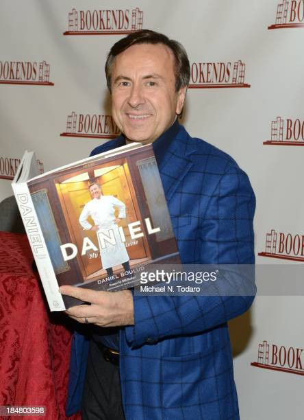Daniel Boulud visits Bookends Bookstore on October 16, 2013 in Ridgewood, New Jersey.