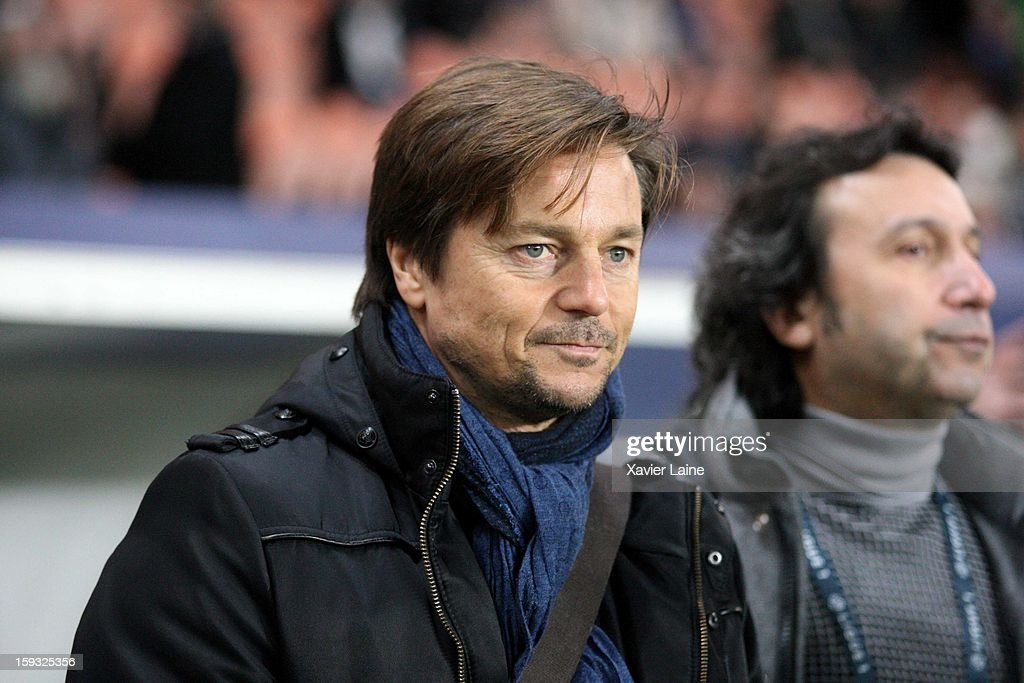 Daniel Bravo attends the French Ligue 1 match between Paris Saint-Germain FC and Ajaccio AC at Parc des Princes on January 11, 2013 in Paris, France.