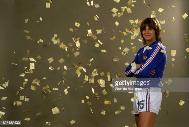 Daniel Bravo of France during a photoshoot in Paris France on March 19 1981
