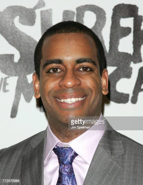 """Daniel Breaker attends the opening night party for """"Shrek The Musical"""" on Broadway at the Plaza hotel on December 14, 2008 in New York City."""