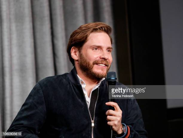 Daniel BrŸhl attends SAGAFTRA Foundation conversations and screening of 'The Alienist' at SAGAFTRA Foundation Screening Room on November 12 2018 in...
