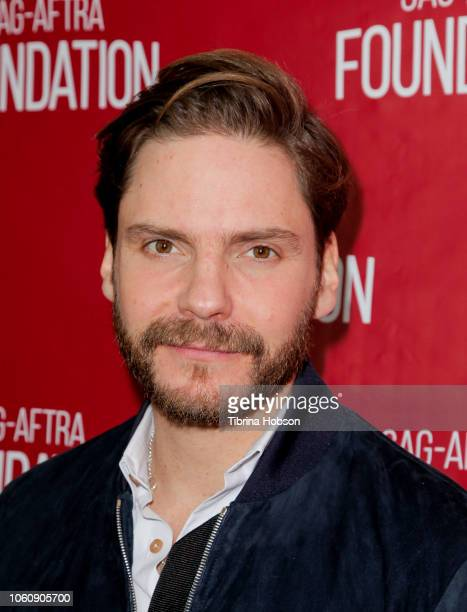 Daniel BrŸhl attends SAG-AFTRA Foundation conversations and screening of 'The Alienist' at SAG-AFTRA Foundation Screening Room on November 12, 2018...