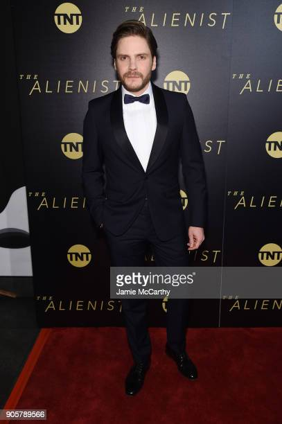 Daniel Brühl attends the premiere of TNT's 'The Alienist' at iPic Cinema on January 16 2018 in New York City