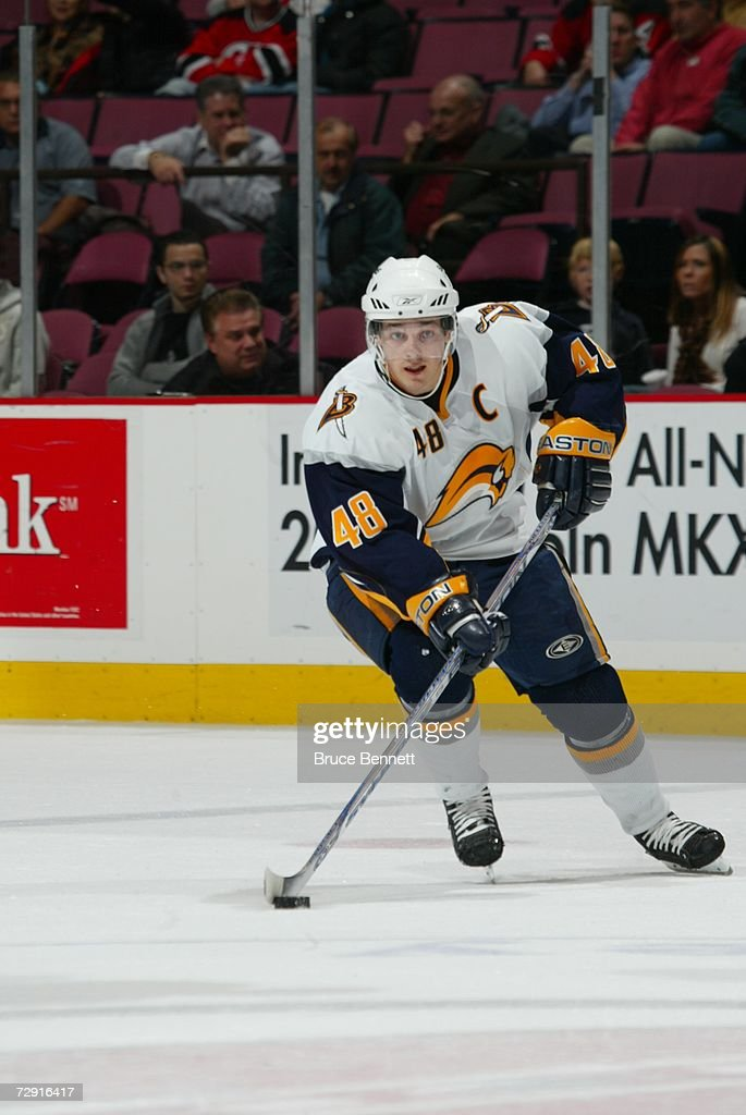 fa0f7b8a6 ... new style daniel briere 48 of the buffalo sabres skates with the puck  against the new