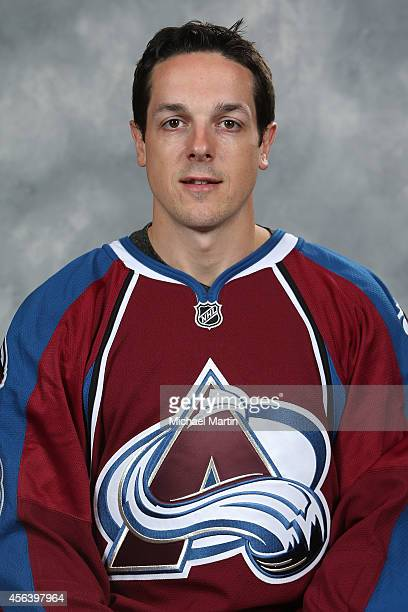 Daniel Briere of the Colorado Avalanche poses for his official headshot for the 20142015 NHL season on September 18 2014 in Denver Colorado