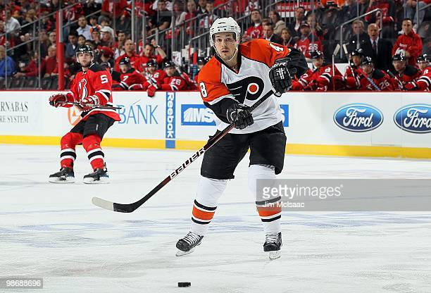 Daniel Briere of the Philadelphia Flyers skates against the New Jersey  Devils in Game 5 of f312524c8
