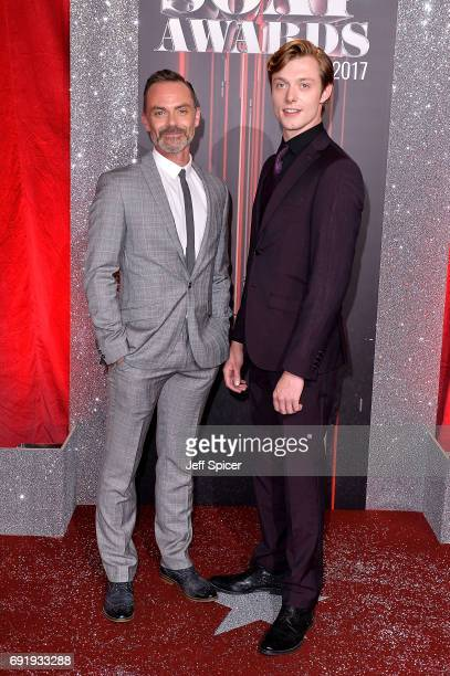 Daniel Brocklebank and Rob Mallard attend The British Soap Awards at The Lowry Theatre on June 3 2017 in Manchester England The Soap Awards will be...