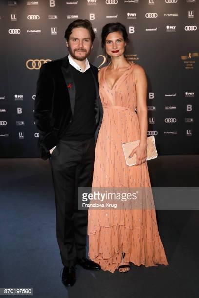 Daniel Bruehl and his girlfriend Felicitas Rombold attend the 24th Opera Gala at Deutsche Oper Berlin on November 4 2017 in Berlin Germany
