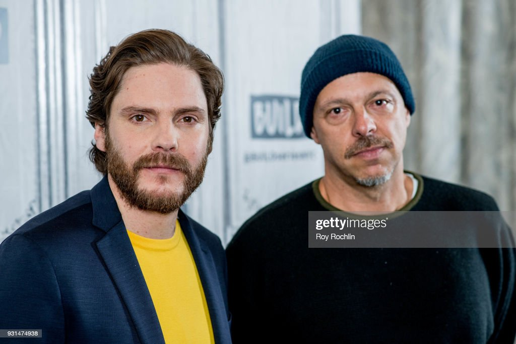 Daniel Bruehl and Jose Padilha discuss '7 Days in Entebbe' at Build Studio on March 13, 2018 in New York City.