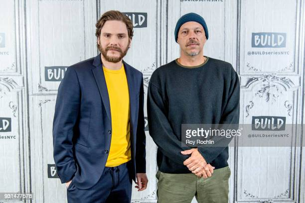 Daniel Bruehl and Jose Padilha discuss '7 Days in Entebbe' at Build Studio on March 13 2018 in New York City