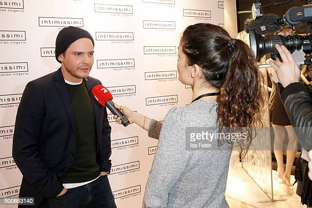 Daniel Bruehl attends the INTIMISSIMI Christmas Reception on December 09 2015 in Munich Germany