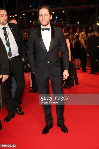 Daniel Bruehl attends the Opening Ceremony 'Isle of Dogs' premiere during the 68th Berlinale International Film Festival Berlin at Berlinale Palace...