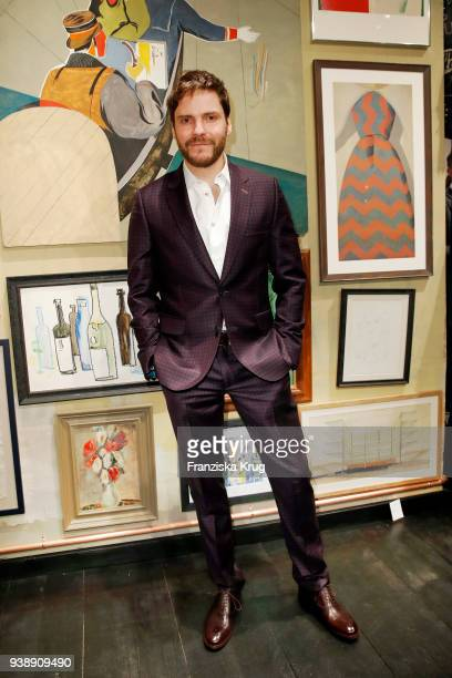 Daniel Bruehl during the Paul Smith Store Opening on March 27 2018 in Berlin Germany