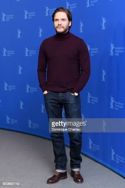 Daniel Bruehl poses at the '7 Days in Entebbe' photo call during the 68th Berlinale International Film Festival Berlin at Grand Hyatt Hotel on...