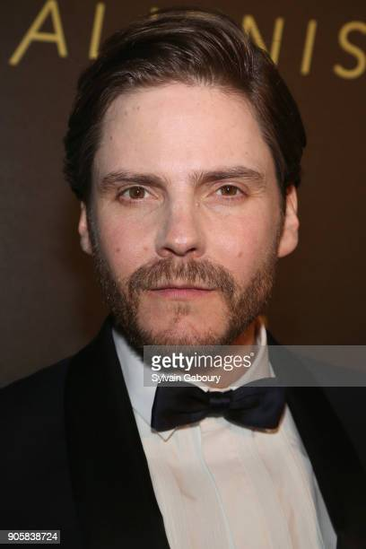 """Daniel Bruhl attends New York Premiere of TNT's """"The Alienist"""" on January 16, 2018 in New York City."""