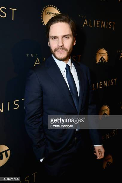 Daniel Bruhl attends The Alienist - LA Premiere Event at Paramount Studios on January 11, 2018 in Hollywood, California. 26144_017