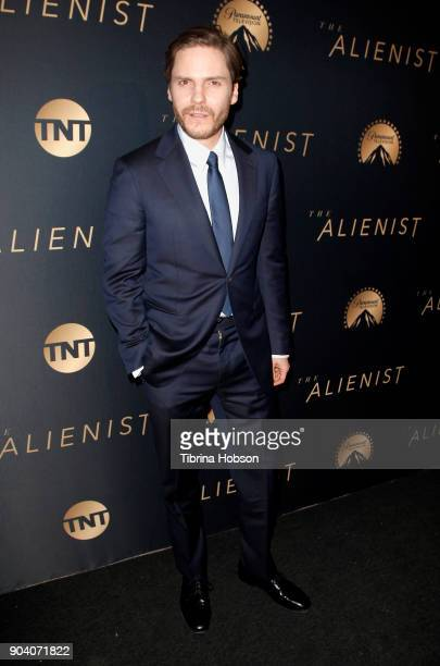 Daniel Bruhl attends the premiere of TNT's 'The Alienist' on January 11 2018 in Los Angeles California