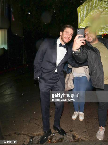 Daniel Bruhl is seen on January 07 2019 in Los Angeles California