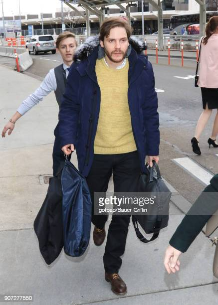 Daniel Bruhl is seen on January 19 2018 in Park City Utah