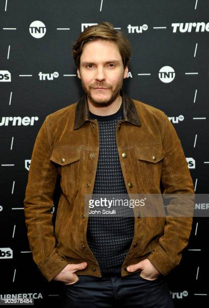 Daniel Bruhl of 'The Alienist' poses in the green room during the TCA Turner Winter Press Tour 2018 Presentation at The Langham Huntington, Pasadena...