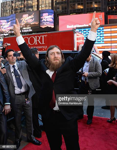 Daniel Bryan attends the WrestleMania 30 press conference at the Hard Rock Cafe New York on April 1 2014 in New York City
