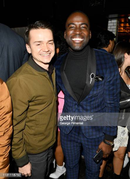 Daniel Byrd and Shamier Anderson attend The Annual Black Ball powered by Cîroc Black Raspberry and Don Julio on February 20 2019 in Los Angeles...