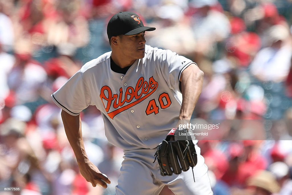 Baltimore Orioles v Los Angeles Angels of Anaheim : News Photo