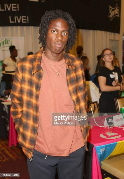 Daniel Caesar at day 2 of the Radio Broadcast Center sponsored by Sprite during the 2017 BET Awards at Microsoft Square on June 24 2017 in Los...