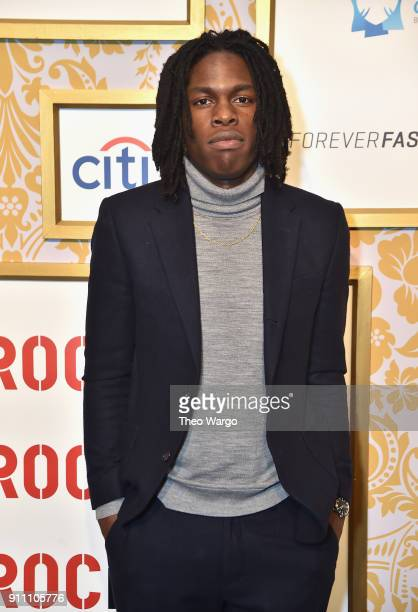 Daniel Caesar attends Roc Nation THE BRUNCH at One World Observatory on January 27 2018 in New York City
