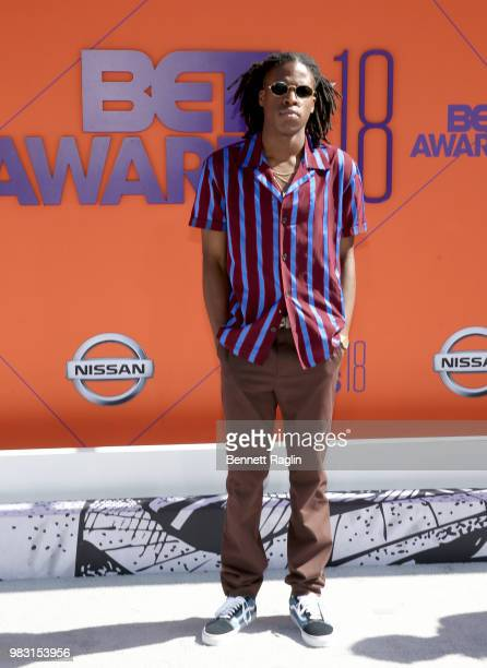 Daniel Caesar attends the 2018 BET Awards at Microsoft Theater on June 24 2018 in Los Angeles California