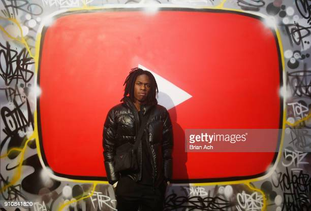 Daniel Caesar attends YouTube brings the BOOM BAP BACK to New York City With Lyor Cohen Nas Grandmaster Flash QTip Chuck D and Fab 5 Freddy on...