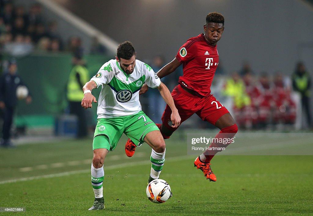 VfL Wolfsburg v FC Bayern Muenchen - DFB Cup : Nachrichtenfoto