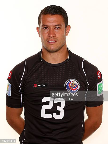 Daniel Cambronero of Costa Rica poses during the official FIFA World Cup 2014 portrait session on June 10 2014 in Sao Paulo Brazil