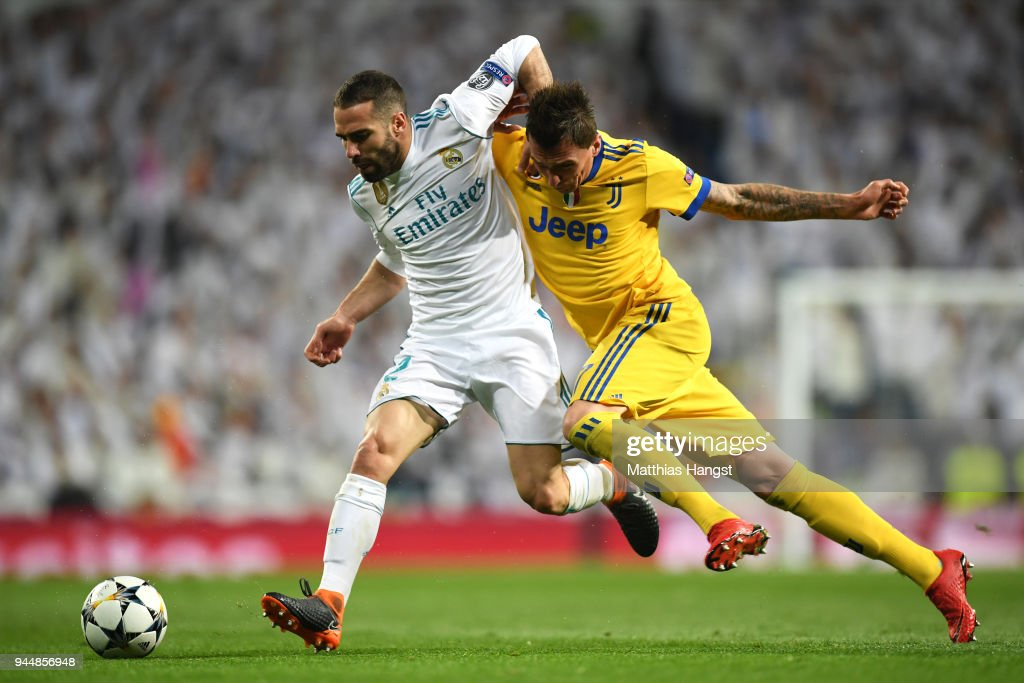 Real Madrid v Juventus - UEFA Champions League Quarter Final Second Leg : News Photo