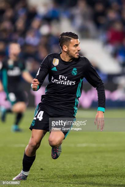 Daniel Ceballos Fernandez D Ceballos of Real Madrid in action during the Copa del Rey 201718 match between CD Leganes and Real Madrid at Estadio...