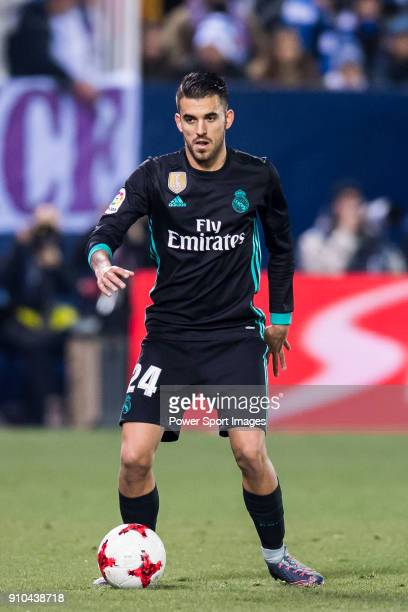 Daniel Ceballos Fernandez D Ceballos of Real Madrid in action during the Copa del Rey 201718 match between CD Leganes and Real Madrid at Estadio...