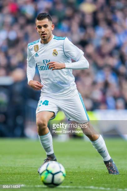 Daniel Ceballos Fernandez D Ceballos of Real Madrid in action during the La Liga 201718 match between Real Madrid and Deportivo Alaves at Santiago...