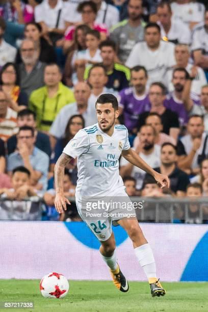 MADRID SPAIN AUGUST 16 Daniel Ceballos Fernandez Dani Ceballos of Real Madrid in action during their Supercopa de Espana Final 2nd Leg match between...