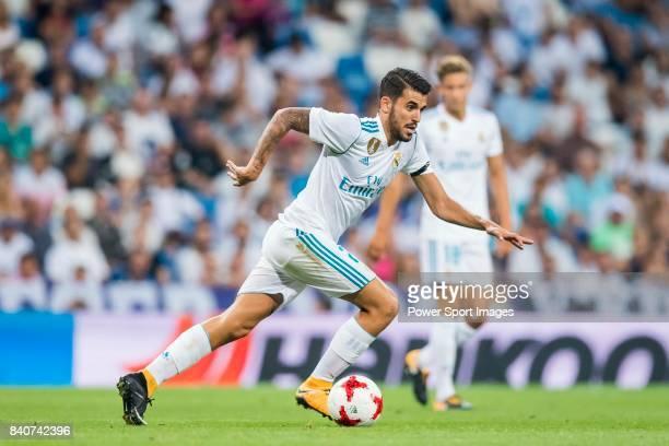 Daniel Ceballos Fernandez Dani Ceballos of Real Madrid in action during the Santiago Bernabeu Trophy 2017 match between Real Madrid and ACF...