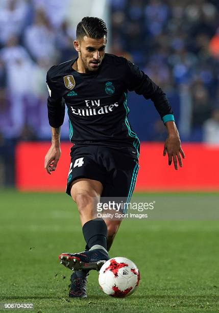 Daniel Ceballos of Real Madrid CF in action during the Copa del Rey quarter final first leg match between Real Madrid CF and Club Deportivo Leganes...