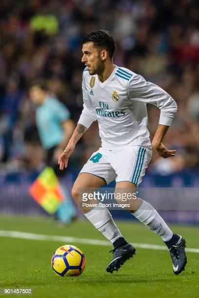 Daniel Ceballos of Real Madrid in action during La Liga 201718 match between Real Madrid and Sevilla FC at Santiago Bernabeu Stadium on 09 December...