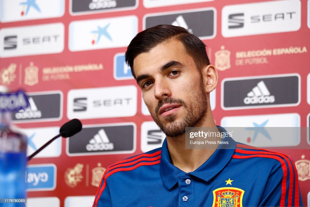 Spanish National Soccer Team Press Conference : News Photo