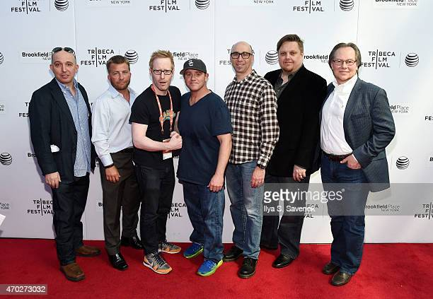 Daniel Chalfen Peter Billingsley Josh Alexander Chris Bell Joel Goodman GB Young and Joel Cheatwood attend 'Prescription Thugs' Premiere during the...