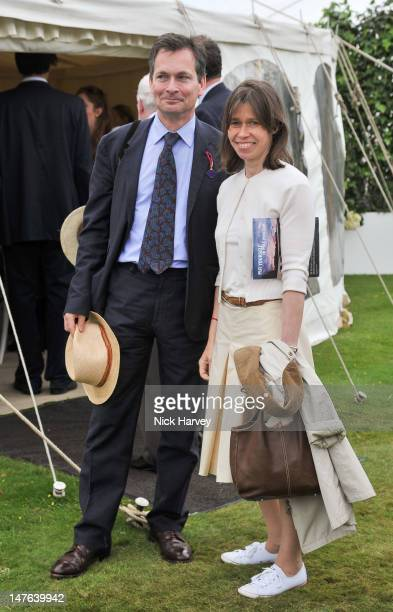 Daniel Chatto and Lady Sarah Chatto attend Cartier Style Luxe Lunch Reception at Goodwood Festival of Speed at Goodwood on July 1 2012 in Chichester...