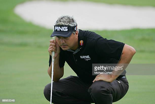 Daniel Chopra of Sweden during the first round of the John Deere Classic at TPC Deere Run held on July 9 2009 in Silvis Illinois